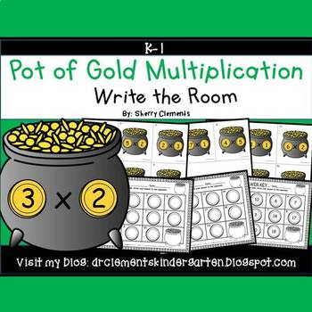 Pot of Gold Write the Room (Multiplication)