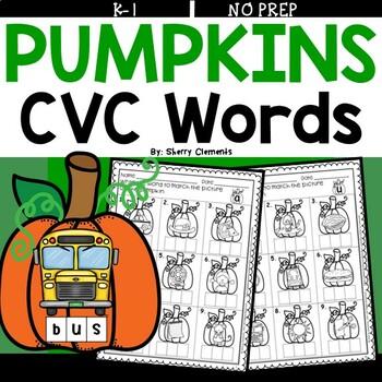 Pumpkin CVC Words