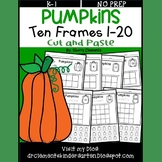 Pumpkin Ten Frames 1-20 Number Book