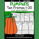 Pumpkin Ten Frames 1-20 Number Book