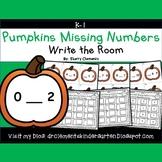 Pumpkins Write the Room (Missing Numbers 0-10)