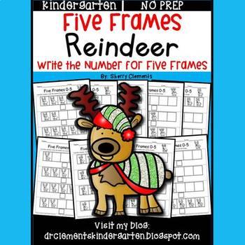Reindeer (Five Frames)
