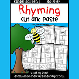 Rhyming Worksheets Distance Learning