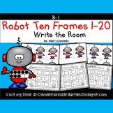 Robot Write the Room (Ten Frames 1-20)