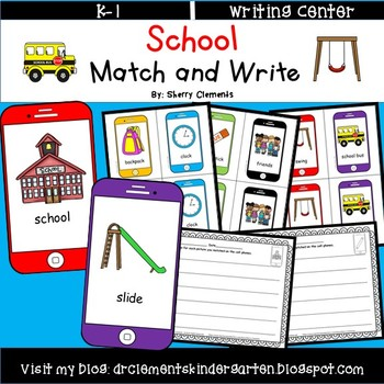 School Match and Write