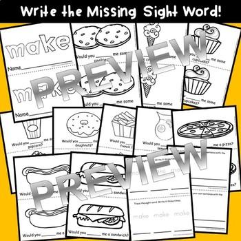Sight Word Fluency Reader MAKE