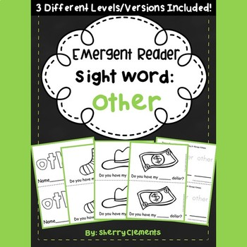 Sight Word Fluency Reader OTHER