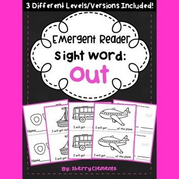 Sight Word Fluency Reader OUT