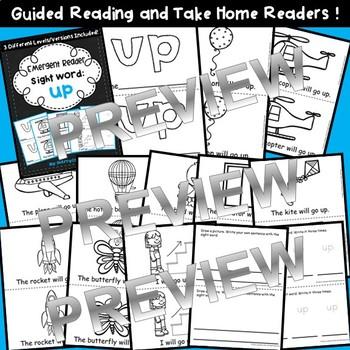 Sight Word Fluency Reader UP