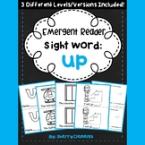 Sight Word Fluency Reader UP