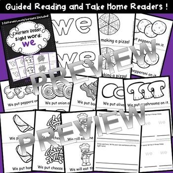 Sight Word Fluency Reader WE