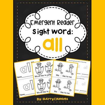 Sight Word Reader ALL