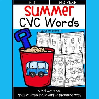 Summer CVC Words