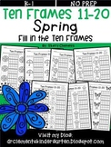 Spring Ten Frames 11-20 (Fill in the Ten Frames)