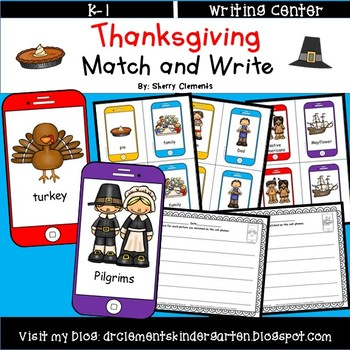 Thanksgiving Match and Write