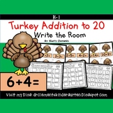 Turkey Addition to 20 Write the Room