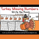 Turkey Write the Room (Missing Numbers 0-10)