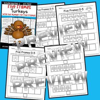 Turkeys (Five Frames)