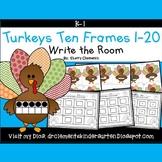 Turkeys Write the Room (Ten Frames 1-20)