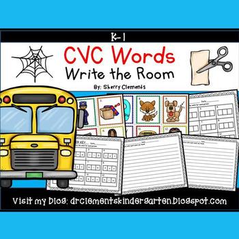 Write the Room (CVC Words)