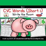 Write the Room CVC Words (Short i)