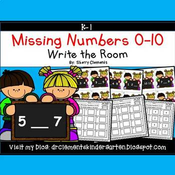 Write the Room (Missing Numbers 0-10)
