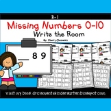 Write the Room (Missing Numbers 0-10) (Set 3)