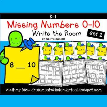 Write the Room (Missing Numbers 0-10) (Set 2)