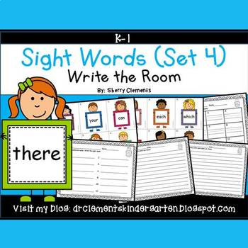 Write the Room (Sight Words) (Set 4)