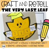 The Very Last Leaf Story Retelling (Story Sequencing) CRAFT