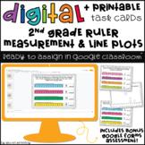 2nd Grade Measurement Digital Task Cards for Google Classr