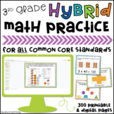 3rd Grade Google Classroom™ Distance Learning Slides for A