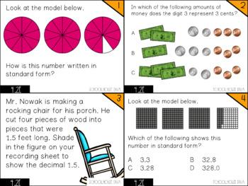 Representing Decimals - 4.2E Math TEKS Resource Bundle