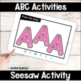 Seesaw Alphabet Activities Distance Learning