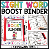 Sight Words Boost Binder   High Frequency Word Activities