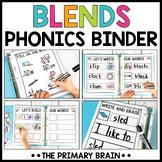 Beginning Blends Boost Binder   Activities for Reading Wor