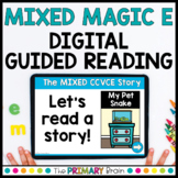 Mixed Magic E   CCVCe Guided Reading Boom Cards™ & Google Slides