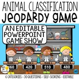 ANIMAL CLASSIFICATION GAME SHOW GR. 1-2