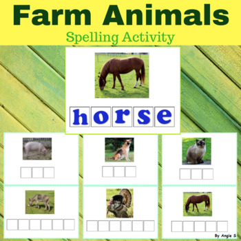 Farm Animals Spelling
