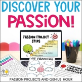 Passion Projects and Genius Hour for Elementary with Distance Learning version