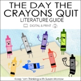 The Day The Crayons Quit Book Guide DIGITAL AND PRINT