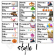 Classroom Labels with Pictures EDITABLE