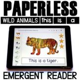 Sight Word Readers   Emergent Reader   Wild Animals