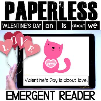 Valentines Day emergent reader | Valentines Day activities