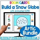 Build a Snow Globe Bundle: Winter Articulation Boom Cards™️