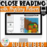 Reading Comprehension Passages: November | Digital ONLY