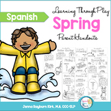 Spanish Spring Learning Through Play Parent Handouts
