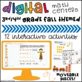 Digital Math Centers: Fall & Thanksgiving