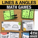 4th - Lines and Angles Math Centers - Math Games