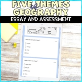 5 Themes of Geography Digital Assessment